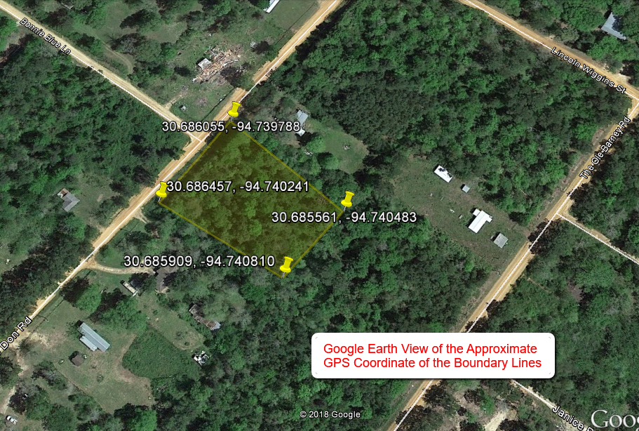 1 43 Acre Tract Ready for RV / Mobile Livingston, Polk